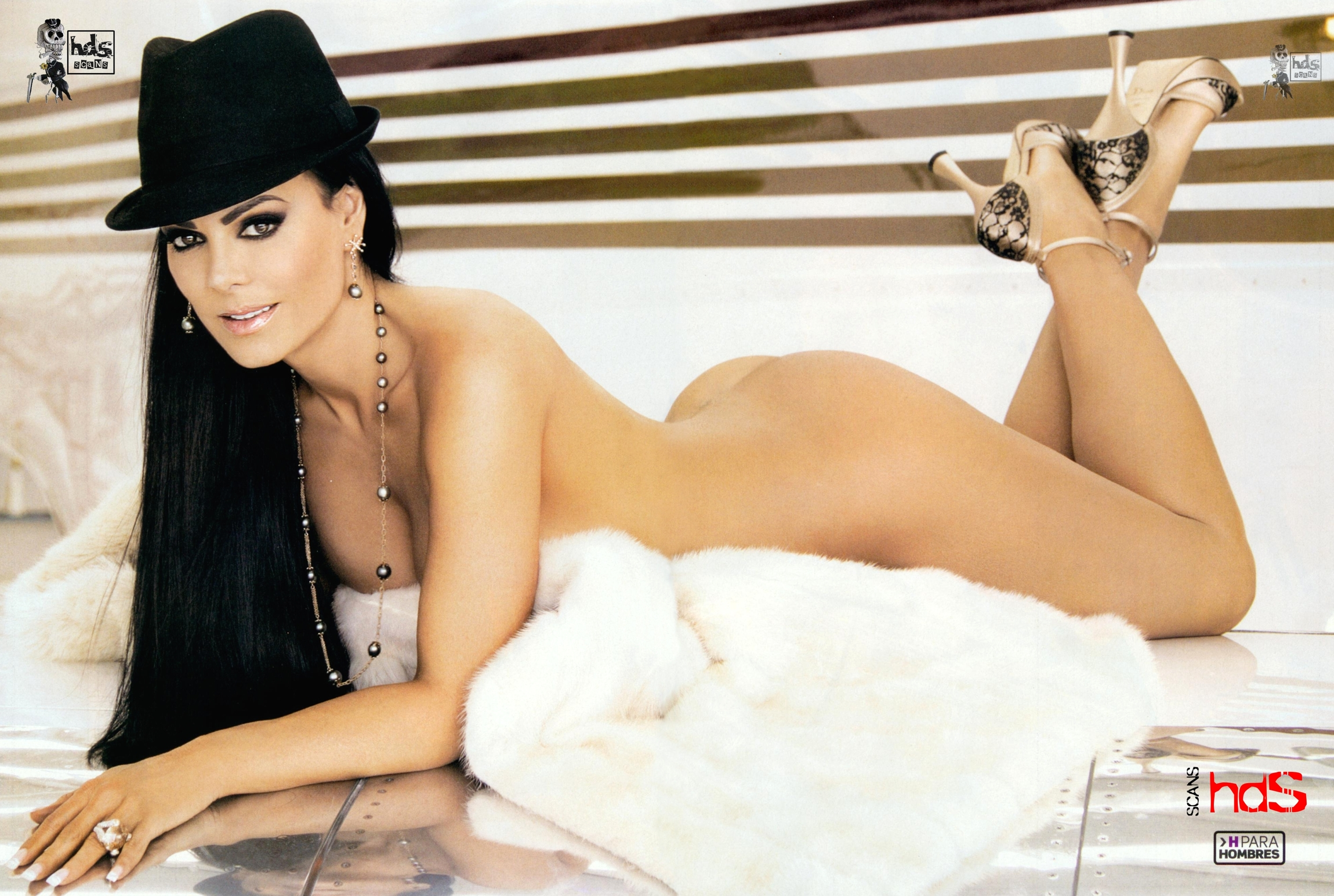 Maribel Guardia Revista H Doble Hoja