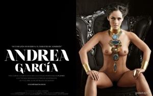 Andrea García Revista Playboy México Diciembre 2014